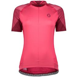 Pink Activewear Tops Scott Endurance As Long Sleeve Womens Cycling Jersey