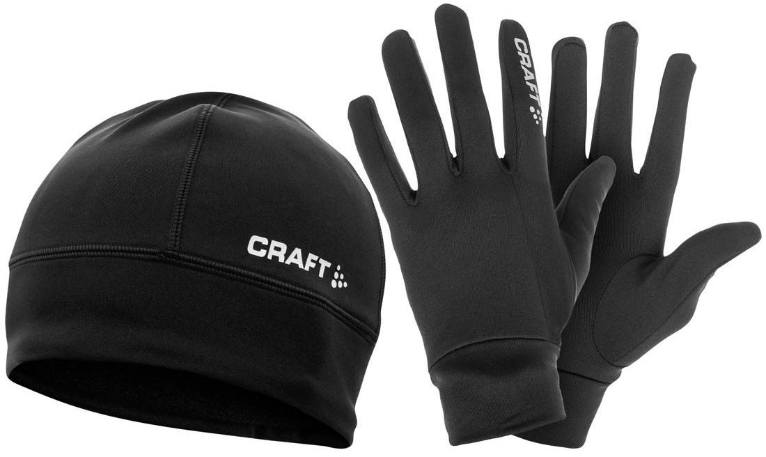 a1a22936f3c Set of thermal hat and gloves Craft Run Winter Gift Pack