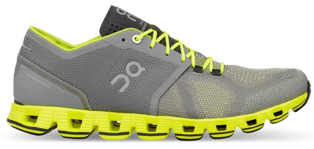 separation shoes ef1d0 aeef1 On Shoes Cloud X grey/neon