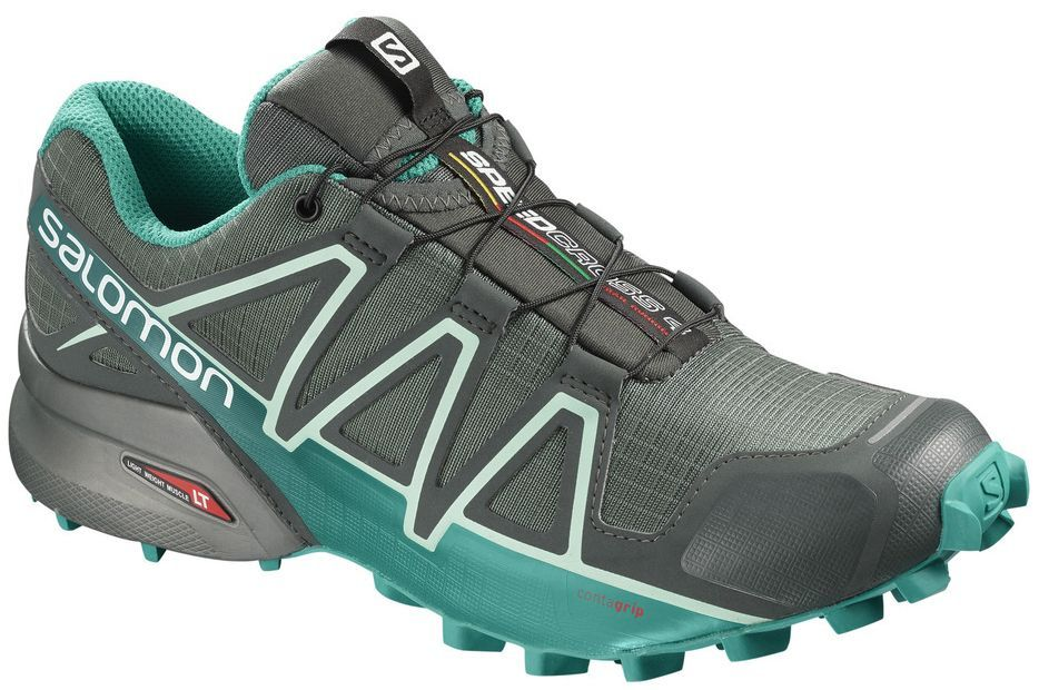 low priced 1cb38 97895 Salomon Shoes Speedcross 4 GTX balsam/green women's