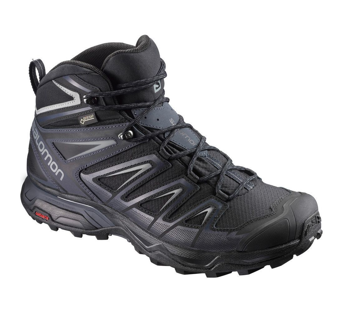3f4d911d15 Salomon Shoes X Ultra 3 Mid GTX black/india ink